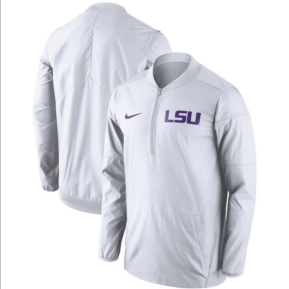 Nike Other - Sideline Lockdown Quarter-zip Jacket - White